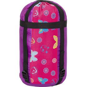 Grüezi-Bag Grow Bttrfly Slaapzak en Inlet Kinderen roze/violet